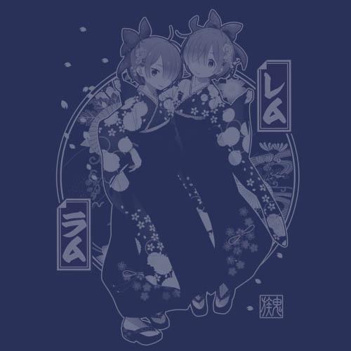 Re:ゼロから始める異世界生活/Re:ゼロから始める異世界生活/★限定★レム&ラム 甚平