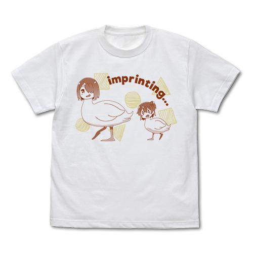私に天使が舞い降りた!/私に天使が舞い降りた!/みやことひなたの刷り込み Tシャツ