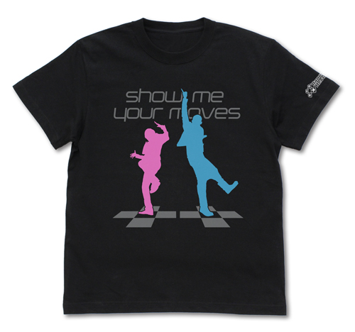 DanceDanceRevolution/DanceDanceRevolution/show me your moves Tシャツ