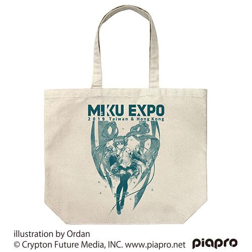 初音ミク/HATSUNE MIKU EXPO 2019 Taiwan & Hong Kong/★海外限定★HATSUNE MIKU EXPO 2019 ラージトート