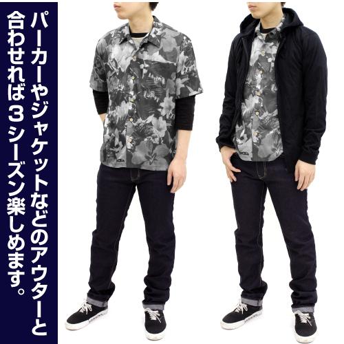 ゴジラ/ゴジラ/★限定★ゴジラ 怪獣総進撃 アロハ モノクロVer.