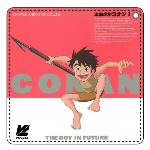 未来少年コナン/未来少年コナン/未来少年コナン MEMORIAL BOX DISC1 LDパッケージ パスケース