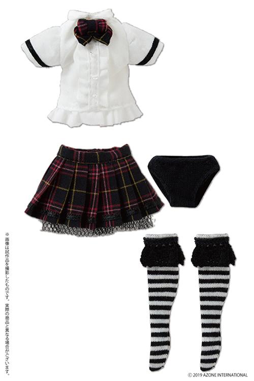 AZONE/ピコニーモコスチューム/PIC274-WHT【1/12サイズドール用】1/12 BlackRaven Luluna ドレスセット