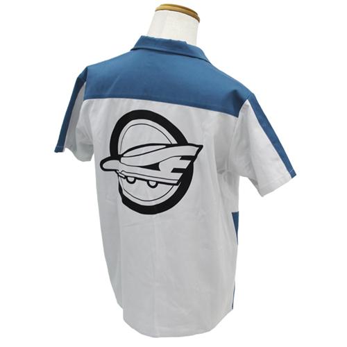 新幹線変形ロボ シンカリオン/新幹線変形ロボ シンカリオン/シンカリオン 超進化研究所指導長ジャケットタイプ デザインワークシャツ