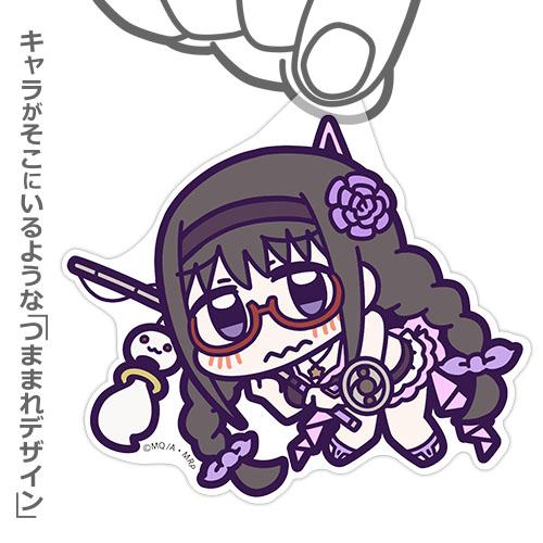魔法少女まどか☆マギカ/マギアレコード 魔法少女まどか☆マギカ外伝/暁美ほむら(水着) アクリルつままれストラップ