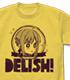 セイバーさんのDELISH! Tシャツ