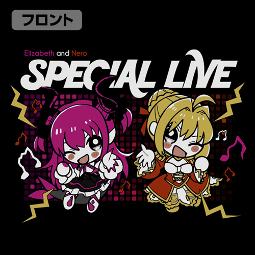 Fate/Fate/EXTELLA LINK/ネロとエリザベートのスペシャルライブ Tシャツ