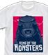 ゴジラ/ゴジラ キング・オブ・モンスターズ/GODZILLA K.O.M. ゴジラヘッド Tシャツ