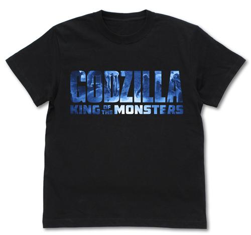 ゴジラ/ゴジラ キング・オブ・モンスターズ/GODZILLA K.O.M. ゴジラロゴ Tシャツ