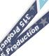 315プロダクション ネックストラップ BLUE Ver.