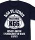 K66 アメカジデザイン Tシャツ