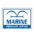 海軍 耐水ステッカー