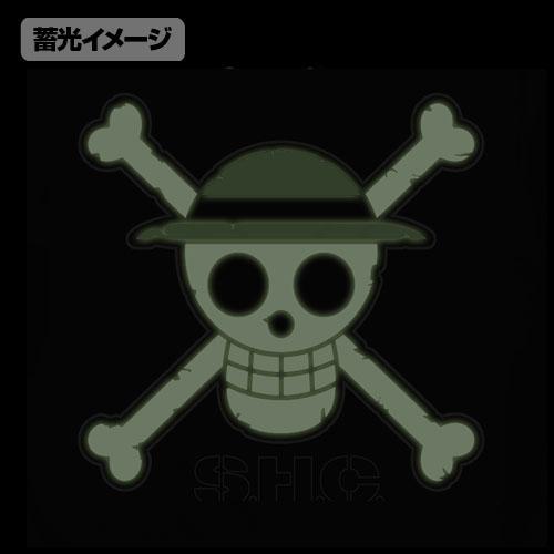ONE PIECE/ワンピース/麦わらのドクロ 蓄光Tシャツ