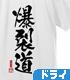 爆裂道 ドライTシャツ Ver.2.0