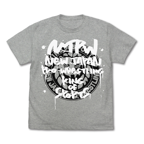 新日本プロレスリング/新日本プロレスリング/ライオンマーク Tシャツ グラフィティVer.