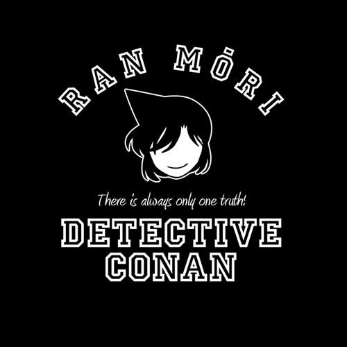 名探偵コナン/名探偵コナン/毛利蘭 アイコンマーク ドライTシャツ