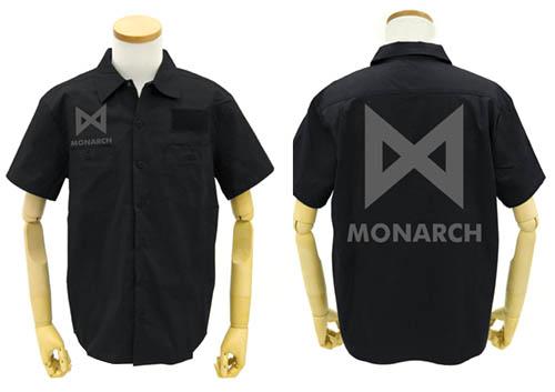 ゴジラ/ゴジラ キング・オブ・モンスターズ/MONARCH ワッペンベースワークシャツ