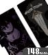 夜刀神十香 手帳型スマホケース148