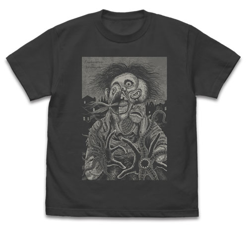伊藤潤二短編集 BEST OF BEST/伊藤潤二短編集 BEST OF BEST/frankenstein in Innsmouth Tシャツ