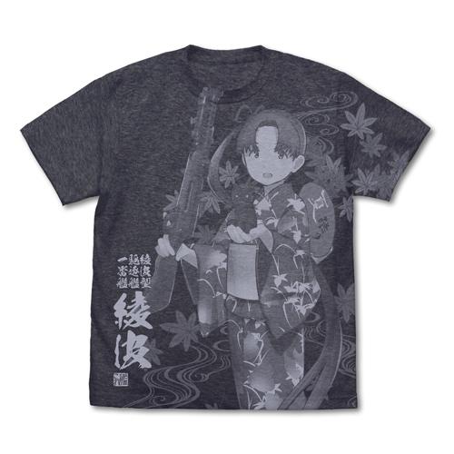艦隊これくしょん -艦これ-/艦隊これくしょん -艦これ-/綾波 オールプリントTシャツ 夏祭り浴衣mode