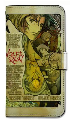 WOLF'S RAIN/WOLF'S RAIN/WOLF'S RAIN DVD-BOX 手帳型スマホケース