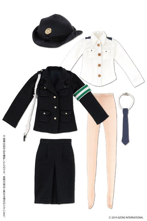 AZONE/Pureneemo Original Costume/PNM175-NVY【1/6サイズドール用】PNM 女性警察官セット