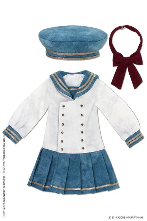 AZONE/Pureneemo Original Costume/ALB155【1/6サイズドール用】PNXS ギムナジウムセーラーワンピセットII