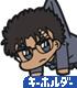 名探偵コナン/名探偵コナン/京極真 つままれキーホルダー