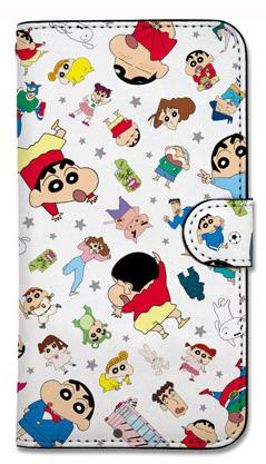 クレヨンしんちゃん/クレヨンしんちゃん/クレヨンしんちゃん みんなで選ぶ名作エピソード DVD-BOX 手帳型スマホケース
