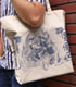 アニメ20周年記念 介錯描きおろし 鋼鉄天使くるみ ラージトート