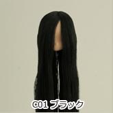 オビツ製作所/Obitsu Body/11-01 毛植ヘッド ナチュラル