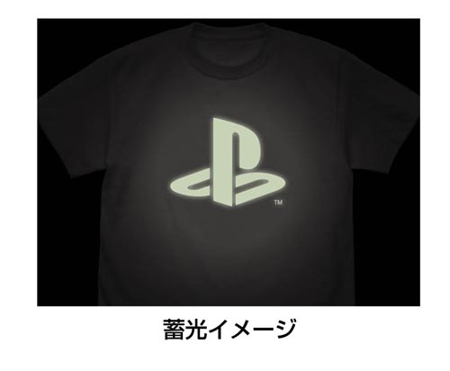 """プレイステーション/プレイステーション/蓄光Tシャツ """"PlayStation"""""""