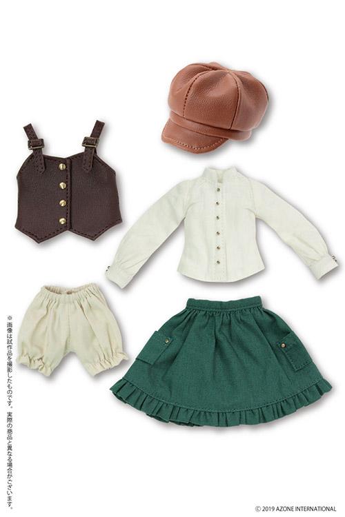 AZONE/Pureneemo Original Costume/ALB203-BRG【1/6サイズドール用】PNXS 夢を追う少女セット ~Alvastaria outfit collection~