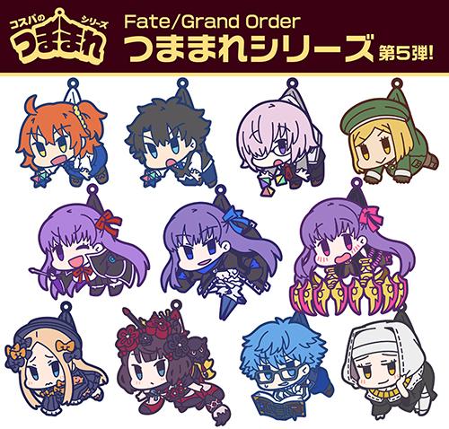 Fate/Fate/Grand Order/シールダー/マシュ・キリエライト 私服Ver. つままれストラップ