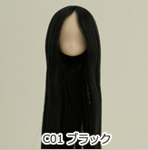 オビツ製作所/Obitsu Body/11-01 毛植ヘッド ホワイティ
