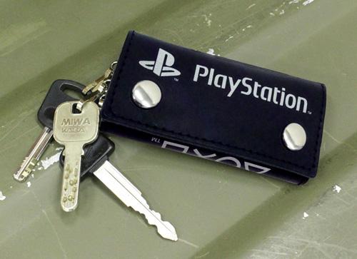 """プレイステーション/プレイステーション/本革キーケース """"PlayStation"""""""