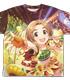 ひまわりサニーデイ 龍崎薫 両面フルグラフィックTシャツ
