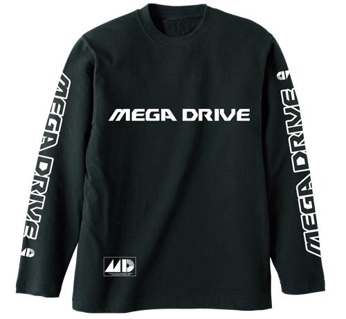 SEGA/メガドライブ/メガドライブ リブなしロングスリーブTシャツ