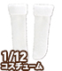 PIC289【1/12サイズドール用】1/12 三つ折りソッ..