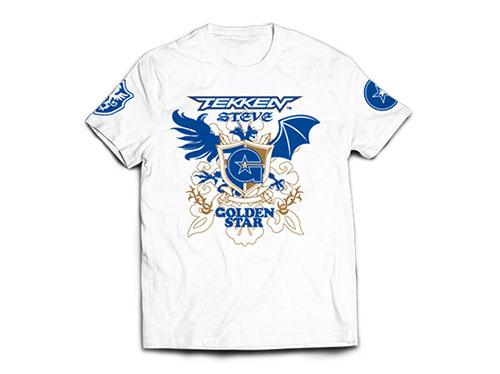 新日本プロレスリング/新日本プロレスリング/新日本プロレス×鉄拳「飯伏幸太×スティーブ・フォックス」Tシャツ(ホワイト)