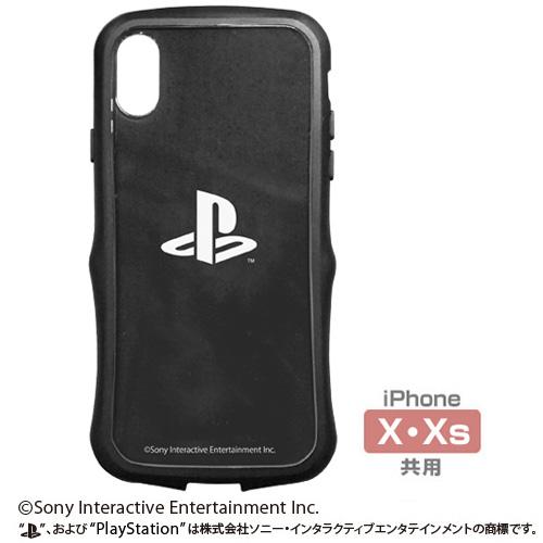 """プレイステーション/プレイステーション/TPUバンパー iPhoneケース [X・Xs共用] """"PlayStation"""""""
