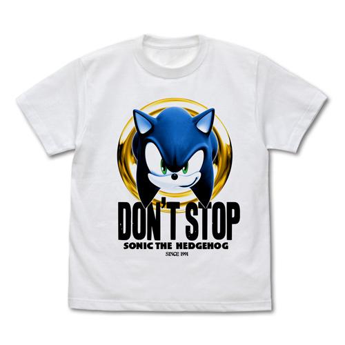 ソニック・ザ・ヘッジホッグ/ソニック・ザ・ヘッジホッグ/DON'T STOP SONIC Tシャツ