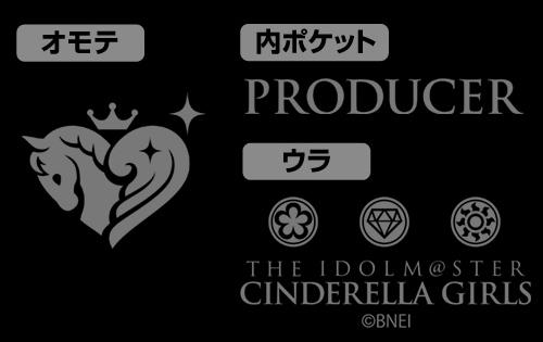 THE IDOLM@STER/アイドルマスター シンデレラガールズ/アイドルマスター シンデレラガールズ シンセティックレザーカードケース