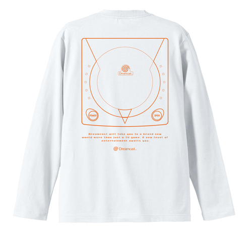 SEGA/ドリームキャスト/ドリームキャスト リブなしロングスリーブTシャツ