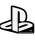 """耐水ステッカー WHITE """"PlayStation"""""""
