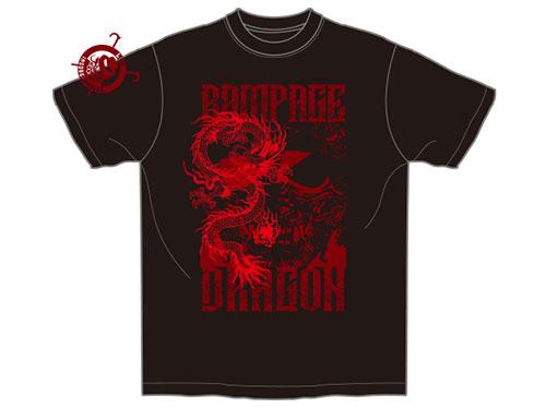 新日本プロレスリング/新日本プロレスリング/鷹木信悟「RAMPAGE DRAGON」Tシャツ