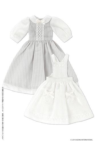 AZONE/Pureneemo Original Costume/POC481【1/6サイズドール用】PNS ふんわりエプロンワンピセット