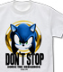 DON'T STOP SONIC Tシャツ