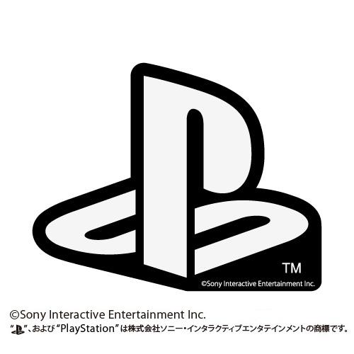"""プレイステーション/プレイステーション/耐水ステッカー WHITE """"PlayStation"""""""