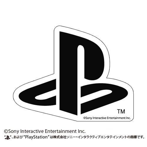 """プレイステーション/プレイステーション/耐水ステッカー BLACK """"PlayStation"""""""
